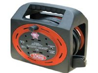 Cable Extension Reel 15m 230v 4 Socket